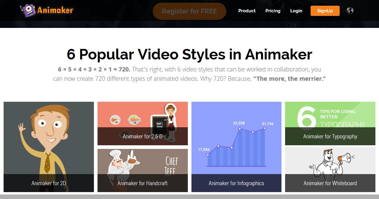 معرفی سایت انیمیکر برای ساخت موشن گرافیک و تیزر رایگان