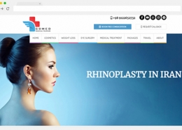 طراحی سایت دندان گردشگری پزشکی