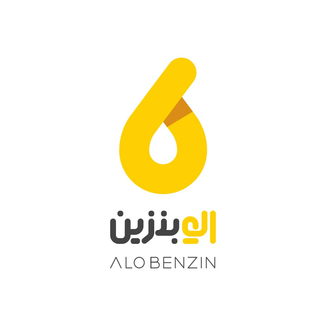 طراحی لوگو الو بنزین