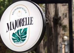 بنر رستوران ماژورل - طراحی هویت بصری رستوران