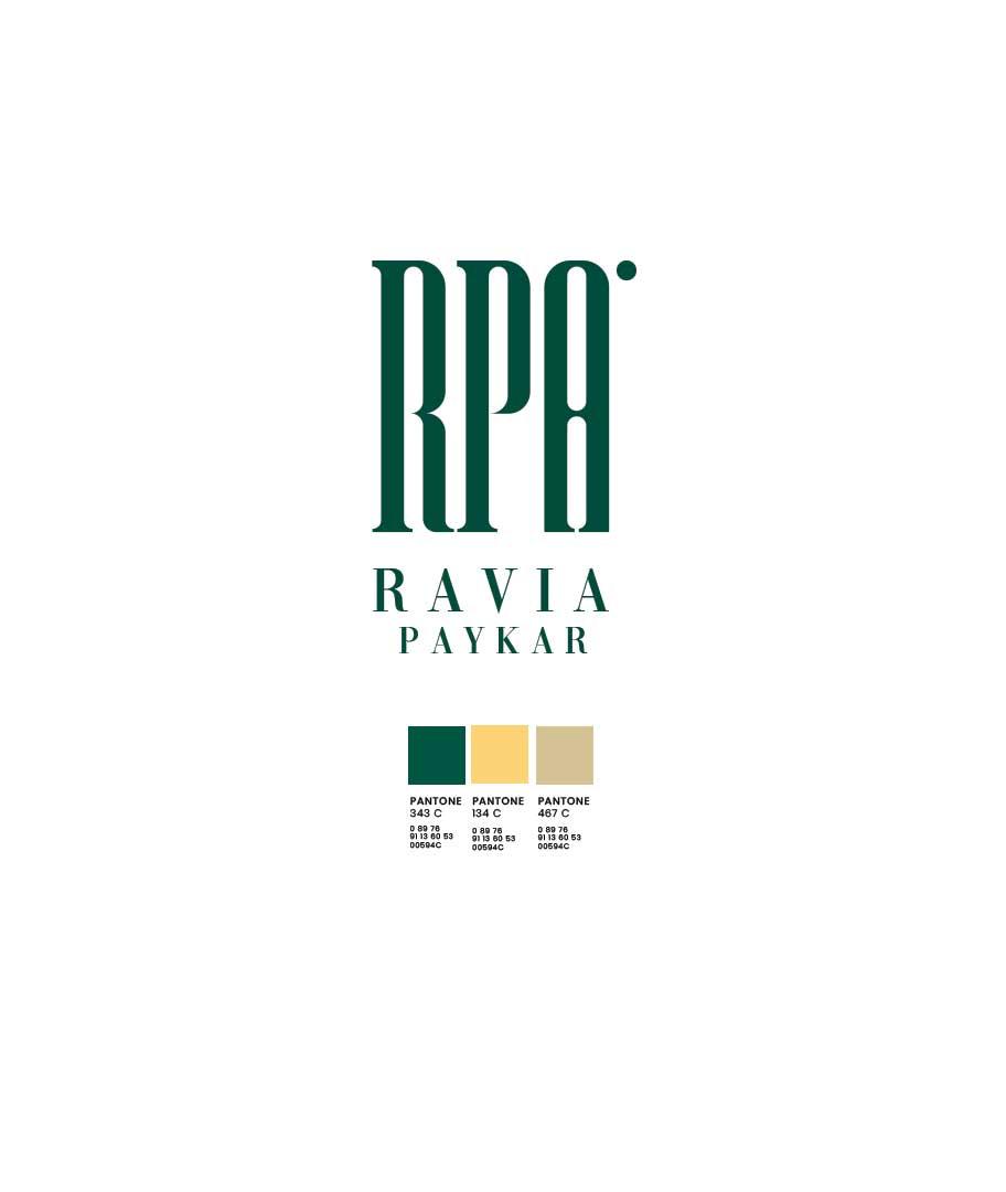 انتخاب رنگ سازمانی و طراحی لوگوی شرکت طراحی راویا