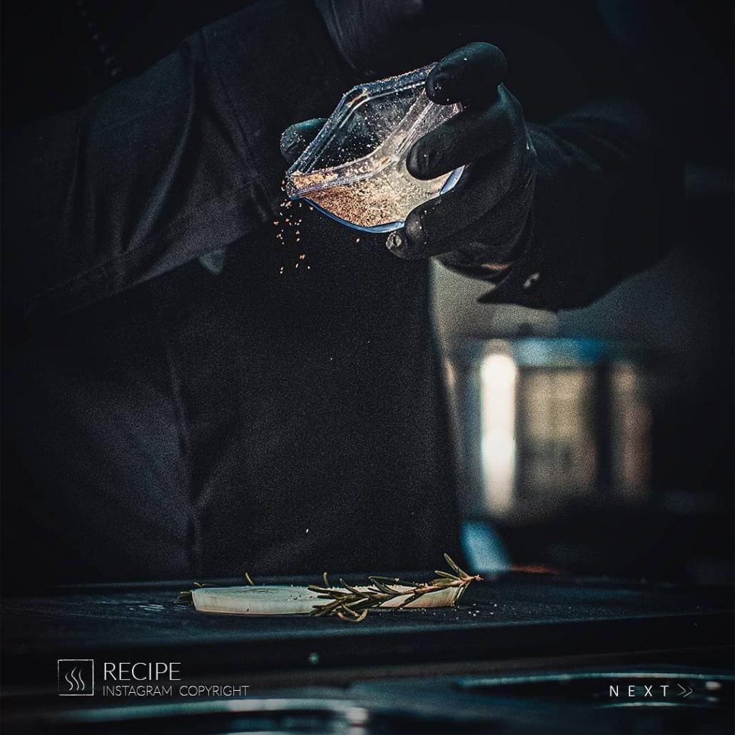 اینستاگرام مارکتینگ رستوران رسپی توسط شایگان