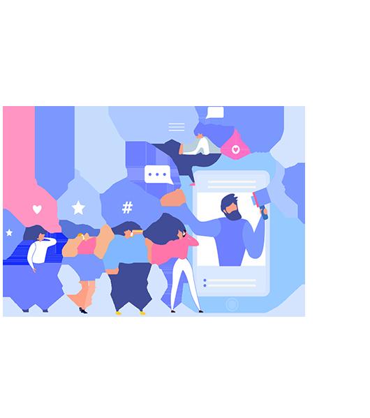 ویژگی های شایگان در خدمات شبکه های اجتماعی