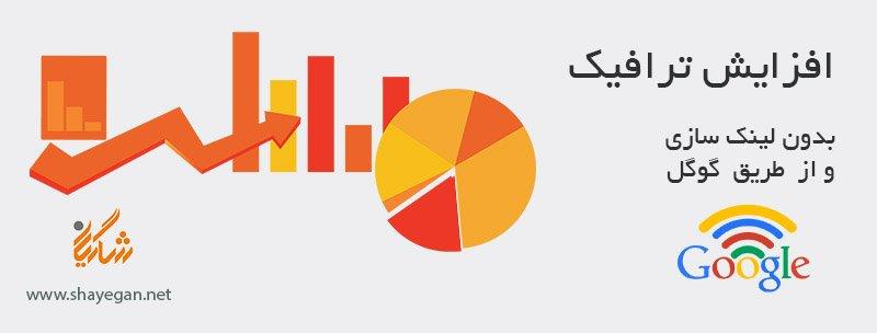 افزایش ترافیک سایت بدون لینک سازی